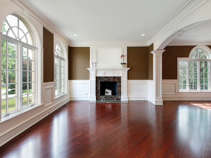 Raleigh 39 s hardwood and laminate flooring specialist - Hardwood floor living room design ...